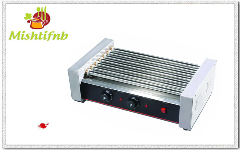 7 Rod broiler hot dog