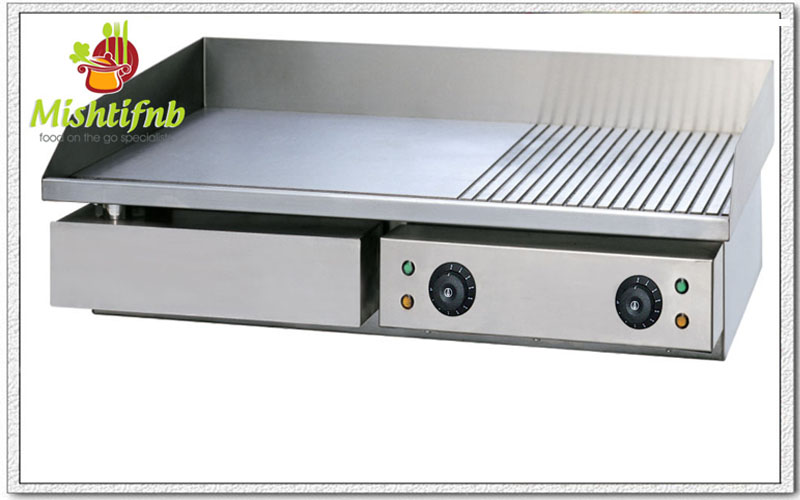 Electric Half Grooved Griddle Manufacturers In Delhi India